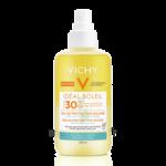 Acheter VICHY CAPITAL SOLEIL SPF30 Eau solaire hydratante Spray/200ml à VIC-FEZENSAC