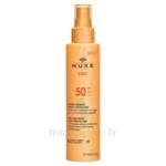Spray Solaire Visage Et Corps Haute Protection Spf 50 Nuxe Sun150ml à VIC-FEZENSAC