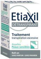 Etiaxil Aisselles Détranspirant Peau Sensibles Roll-on/15ml à VIC-FEZENSAC