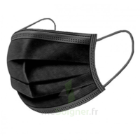 Masque Chirurgical Noir B/50 à VIC-FEZENSAC