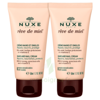 Rêve De Miel® Crème Mains Et Ongles 2*50ml à VIC-FEZENSAC