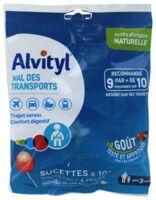 Alvityl Sucette Mal Des Transports Cola Fraise Sachet/10 à VIC-FEZENSAC
