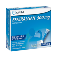 Efferalgan 500 Mg Glé En Sachet Sach/16 à VIC-FEZENSAC