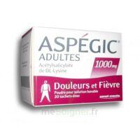 Aspegic Adultes 1000 Mg, Poudre Pour Solution Buvable En Sachet-dose 20 à VIC-FEZENSAC
