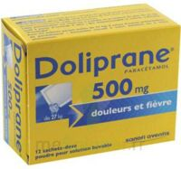 Doliprane 500 Mg Poudre Pour Solution Buvable En Sachet-dose B/12