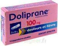 Doliprane 100 Mg Suppositoires Sécables 2plq/5 (10) à VIC-FEZENSAC