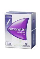 Nicorette Inhaleur 10 Mg Cartouche P Inh Bucc Inhalation Buccale B/42 à VIC-FEZENSAC