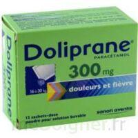 Doliprane 300 Mg Poudre Pour Solution Buvable En Sachet-dose B/12 à VIC-FEZENSAC