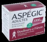 Aspegic Adultes 1000 Mg, Poudre Pour Solution Buvable En Sachet-dose 30 à VIC-FEZENSAC