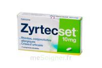 Zyrtecset 10 Mg, Comprimé Pelliculé Sécable à VIC-FEZENSAC