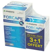 Forcapil Gélules Croissance Vitalité Cheveux Ongles B/180+60 à VIC-FEZENSAC
