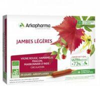 Acheter Arkofluide Bio Ultraextract Solution buvable jambes légères 20 Ampoules/10ml à VIC-FEZENSAC