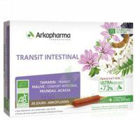 Acheter Arkofluide Bio Ultraextract Solution buvable transit intestinal 20 Ampoules/10ml à VIC-FEZENSAC