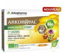 Arkoroyal Immunité Fort Solution Buvable 20 Ampoules/10ml à VIC-FEZENSAC