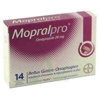 Mopralpro 20 Mg Cpr Gastro-rés Film/14 à VIC-FEZENSAC