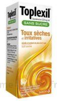 Toplexil 0,33 Mg/ml Sans Sucre Solution Buvable 150ml à VIC-FEZENSAC