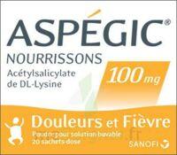 Aspegic Nourrissons 100 Mg, Poudre Pour Solution Buvable En Sachet-dose à VIC-FEZENSAC
