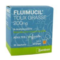 Fluimucil Expectorant Acetylcysteine 200 Mg Sans Sucre, Granulés Pour Solution Buvable En Sachet édulcorés à L'aspartam Et Au Sorbitol à VIC-FEZENSAC