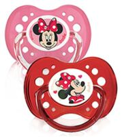Dodie Disney Sucettes Silicone +18 Mois Minnie Duo