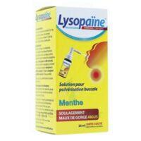 LysopaÏne Ambroxol 17,86 Mg/ml Solution Pour Pulvérisation Buccale Maux De Gorge Sans Sucre Menthe Fl/20ml à VIC-FEZENSAC