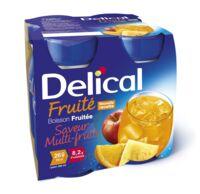 Delical Boisson Fruitee Nutriment Multi Fruits 4bouteilles/200ml à VIC-FEZENSAC