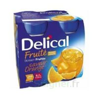 Delical Boisson Fruitee Nutriment Orange 4bouteilles/200ml à VIC-FEZENSAC