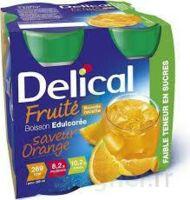 Delical Boisson Fruitee Nutriment édulcoré Orange 4bouteilles/200ml à VIC-FEZENSAC