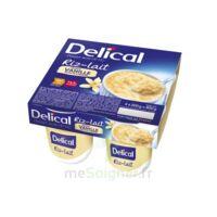 Delical Riz Au Lait Nutriment Vanille 4pots/200g à VIC-FEZENSAC