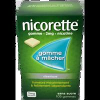 Nicorette 2 Mg Gom à Mâcher Médic Sans Sucre Menthe Fraîche Plq/105gom à VIC-FEZENSAC
