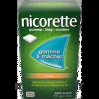 Nicorette 2 Mg Gomme à Mâcher Médicamenteuse Sans Sucre Fruits Plq/30 à VIC-FEZENSAC