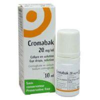 Cromabak 20 Mg/ml, Collyre En Solution à VIC-FEZENSAC