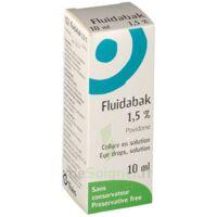 Fluidabak 1,5 %, Collyre En Solution à VIC-FEZENSAC