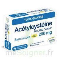 Acetylcysteine Eg Labo Conseil 200 Mg Sans Sucre, Poudre Pour Solution Buvable En Sachet-dose à VIC-FEZENSAC