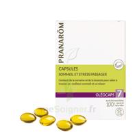 Pranarom Oleocaps 7 Caps Sommeil & Stress Passager à VIC-FEZENSAC