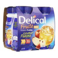 Delical Boisson Fruitee Nutriment Pomme 4bouteilles/200ml à VIC-FEZENSAC