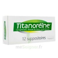 Titanoreine Suppositoires B/12 à VIC-FEZENSAC