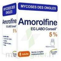 Amorolfine Eg 5 % V Ongles Médicamenteux 1fl/2,5ml+10 Spat à VIC-FEZENSAC