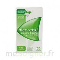 Nicorette 4 Mg Gom à Mâcher Médic Sans Sucre Menthe Fraîche Plq/30gom à VIC-FEZENSAC