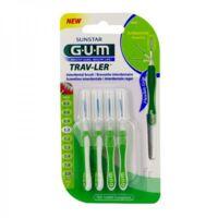 Gum Trav - Ler, 1,1 Mm, Manche Vert , Blister 4 à VIC-FEZENSAC