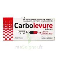 Carbolevure Gélules Adulte Plq/30 à VIC-FEZENSAC