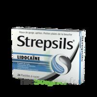 Strepsils Lidocaïne Pastilles Plq/24 à VIC-FEZENSAC
