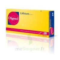 Oligosol Lithium Solution Buvable En Ampoule Ou En Récipient Unidose 28amp/2ml à VIC-FEZENSAC