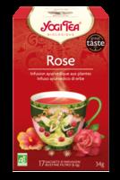 Yogi Tea Thé Tao Tea Rose Bio 17 Sachets à VIC-FEZENSAC