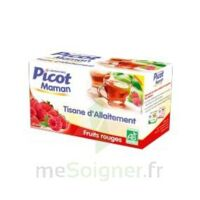 Picot Maman Tisane D'allaitement Fruits Rouges 20 Sachets à VIC-FEZENSAC