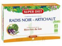 Superdiet Radis Noir Artichaut Bio Solution Buvable 20 Ampoules/15ml à VIC-FEZENSAC