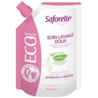 Saforelle Solution Soin Lavant Doux Eco-recharge/400ml à VIC-FEZENSAC