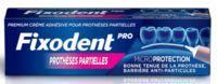 Fixodent Pro Crème Adhésive Pour Prothèse Partielle T/40g à VIC-FEZENSAC