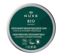 Nuxe Bio Déodorant Baume Fraîcheur 24h Toutes Peaux Pot/50g à VIC-FEZENSAC