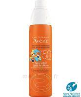Avène Eau Thermale Solaire Spray Enfant 50+ 200ml à VIC-FEZENSAC