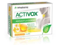 Activox Sans Sucre Pastilles Miel Citron B/24 à VIC-FEZENSAC